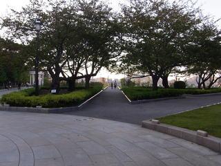 ヴェルニー公園東側